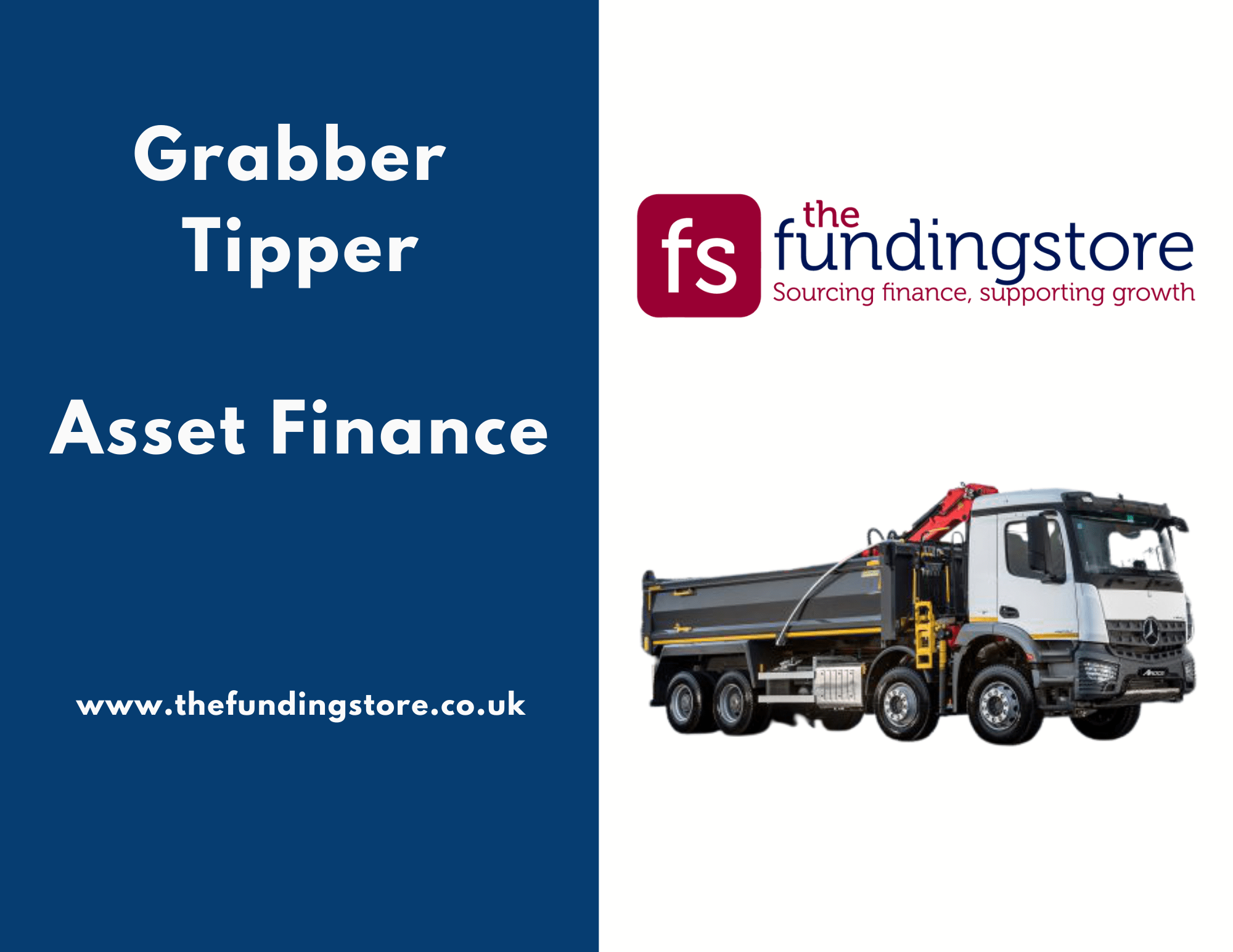 Civil engineering firm secures grabber tipper on asset finance The Funding Store